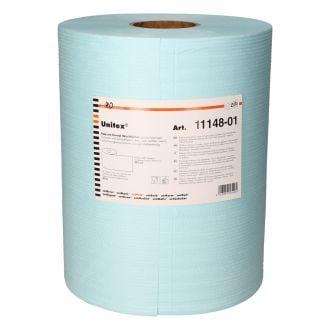 Bobina Secamanos Unitex 500 paños 39x33cm azul