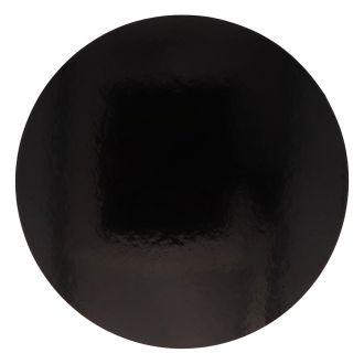 Disco de Cartón Ø 24cm Negro