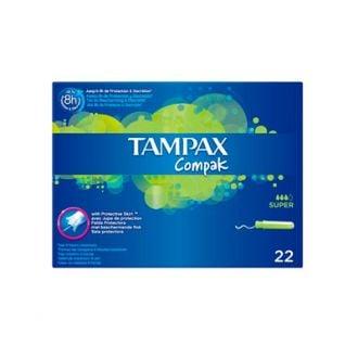 Tampones Tampax Compak Super