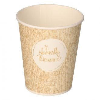 Vaso de papel para café SP6 190ml Bioware compostable