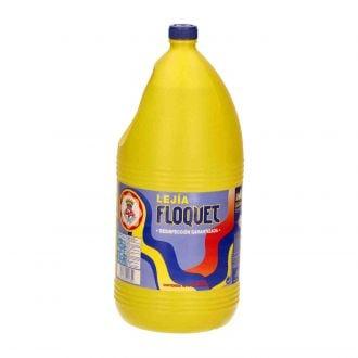 Lejía Desinfectante Floquet Clásica 5L