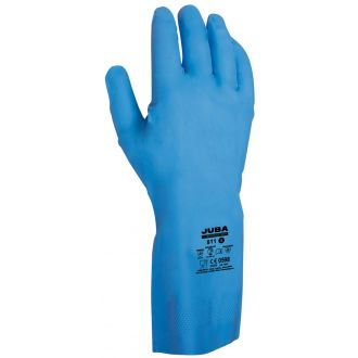 Guante Nitrilo Juba 811 Azul Talla L