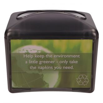 Dispensador de Servilletas Zig-Zag Grande Greensource Negro