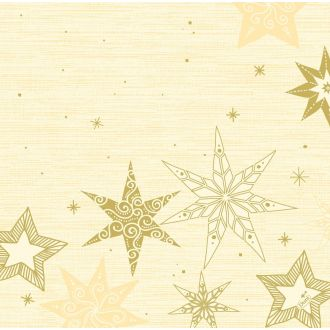 Servilleta Dunisoft 40x40 Duni Star Stories Crème