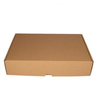 Caja Cartón Kraft 38x25x8cm