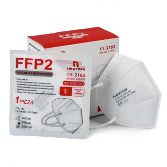 Mascarilla Facial FFP2 No Reutilizable