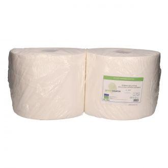 Bobina Industrial Greensource Celulosa Laminada 2 Capas - 350m Blanca
