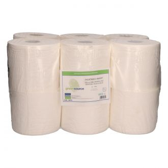Papel Higiénico Industrial Greensource Celulosa 2 Capas - 110m