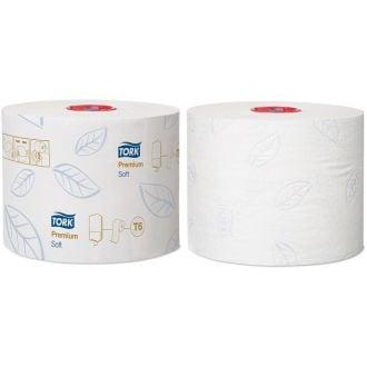 Higiénico IndustrialCompacto Suave Tork 2 capas - 90m