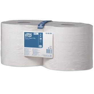Bobina Industrial Tork Celulosa 2 Capas - 340m Blanca
