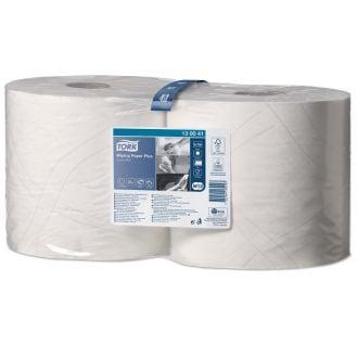 Papel de secado Tork 2 capas - 255m blanca