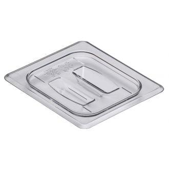 Tapa con asa GN 1/6 de policarbonato transparente