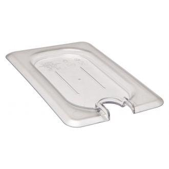 Tapa con muesca GN 1/9 de policarbonato transparente
