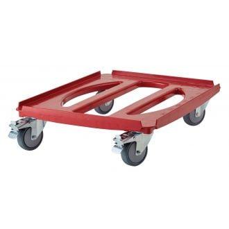 Carro Camdolly para contenedores pastelería de carga superior o frontal