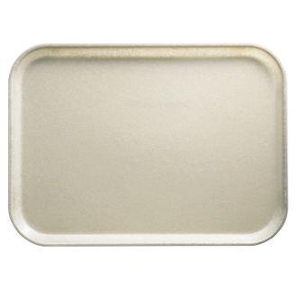 Bandeja rectangular de fibra de vidrio superficie lisa - perfil alto - 35,5x45,7cm