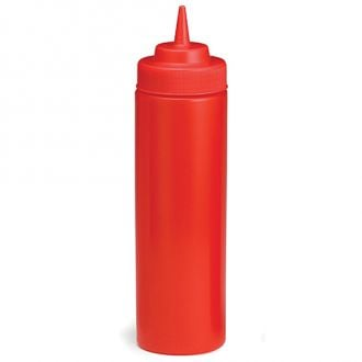 Botella exprimible para ketchup 53mm de boca - 355ml