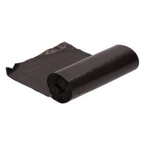 Bolsa de basura doméstica 54x60cm negra G70